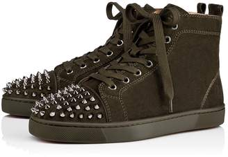 Christian Louboutin Lou Spikes Men's Flat