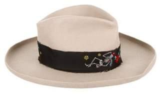 Zadig & Voltaire Wool Wide-Brim Hat