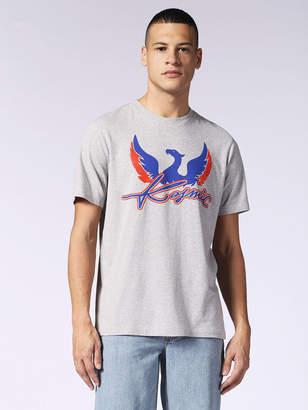 Diesel T-Shirts 0AASI - Grey - L