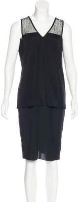 Jonathan Simkhai Silk Midi Dress
