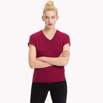 Tommy Hilfiger Solid V-Neck T-Shirt
