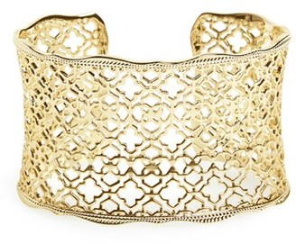 Women's Kendra Scott 'Mystic Bazaar - Candice' Wide Cuff $75 thestylecure.com