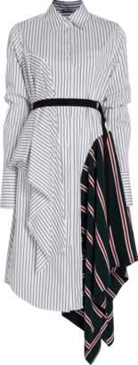 Tome Striped Shirtdress