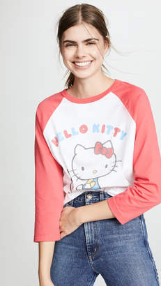Chinti and Parker Hello Kitty Baseball Tee