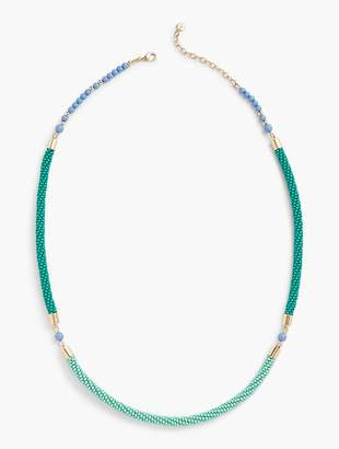 Talbots Beaded Layering Necklace