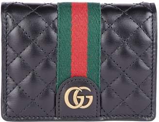 d90b154c7196 Gucci Leather Card Case - ShopStyle