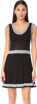 McQ - Alexander McQueen Rib Stripe Dress $485 thestylecure.com