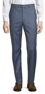 Saks Fifth Avenue BLACK Haze Wool Pants