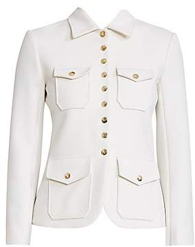 Chloé Women's Snap Button Military Jacket