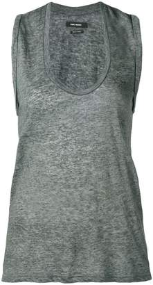 2f84b7a12189e4 Loose Gray Tank Top - ShopStyle
