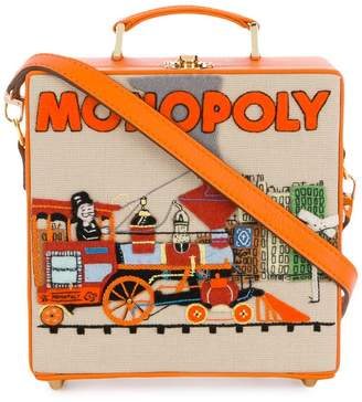 Olympia Le-Tan 'Monopoly Train' clutch bag
