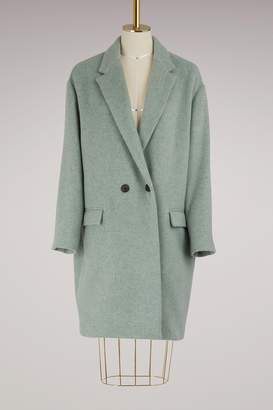 Isabel Marant Filipo virgin wool coat