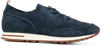 Loro Piana lace up classic trainers