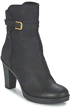 Fred de la Bretonière EMMEN women's Low Ankle Boots in Black