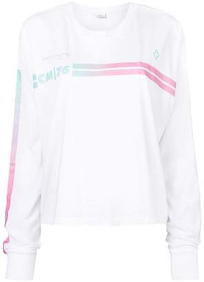 Marcelo Burlon County of Milan stripe detail sweatshirt