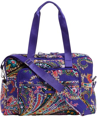 Vera Bradley Signature Iconic Deluxe WeekenderTravel Bag