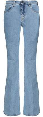 Victoria Beckham Victoria Mid-Rise Flared Jeans