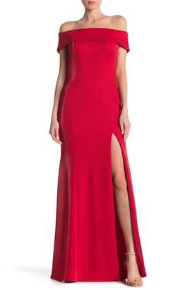 Jay Godfrey Ross Off-the-Shoulder Gown