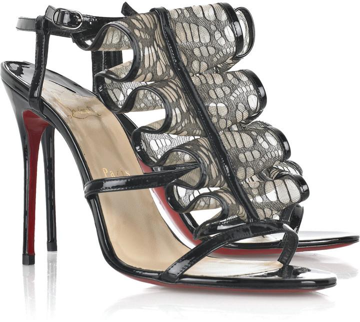 Christian Louboutin Fortitia 100 sandal
