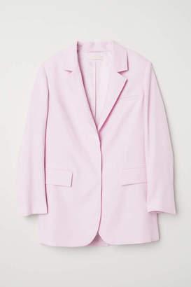 H&M Oversized Blazer - Light pink - Women