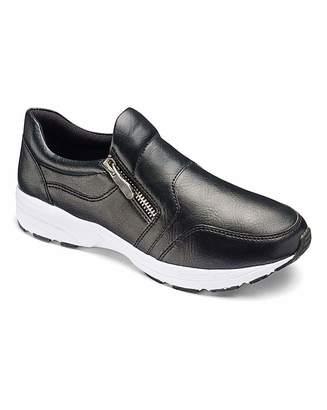 Heavenly Soles Zip Trainer Shoes E Fit 5b1d9ad70
