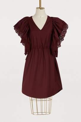 See by Chloe Poplin dress