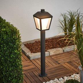 Laternenförmige LED-Wegelampe Keralyn