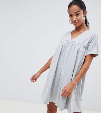 Asos DESIGN Petite ultimate cotton smock dress