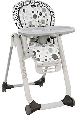 Chicco Polly Progress Highchair, Anthracite