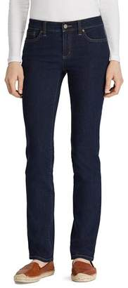Ralph Lauren Slim Modern Curvy Jeans in Rinse