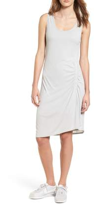 Splendid Ruched Rib Knit Dress