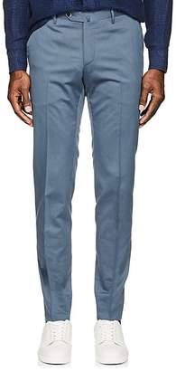 Pt01 Men's Virgin Wool-Cotton Super-Slim Trousers