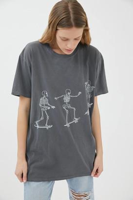 Project Social T Skateboard Skeletons Tee