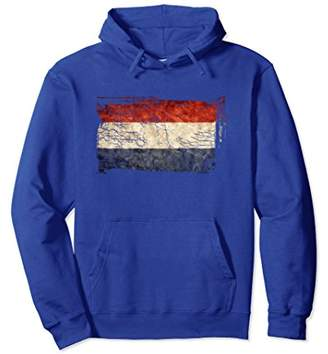 Unique Trendy Vintage Netherlands Flag Gift Hoodie G003734