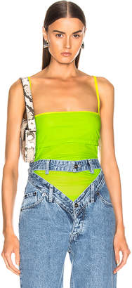 Y/Project Layered Tank Top in Neon Green | FWRD