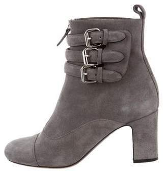 Tabitha Simmons Suede Ankle Booties