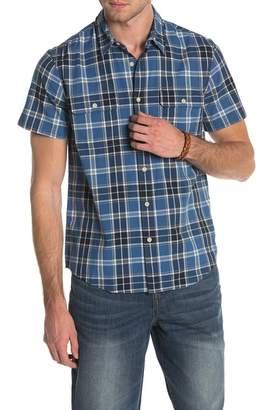 Lucky Brand Short Sleeve Clean Work Wear Shirt