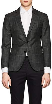Brooklyn Tailors BROOKLYN TAILORS MEN'S BKT50 CHECKED WOOL TWO-BUTTON SPORTCOAT