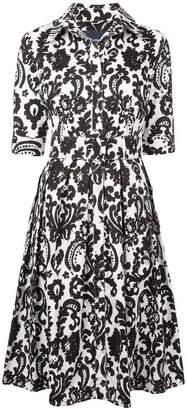 Samantha Sung audrey printed flared dress