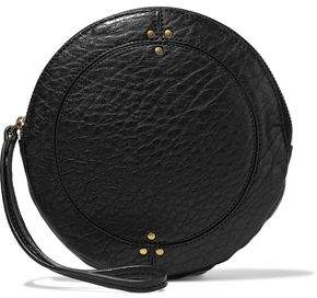 Jerome Dreyfuss Textured-Leather Clutch