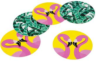 Sunnylife Tropical Reversible Coasters (Set of 16)