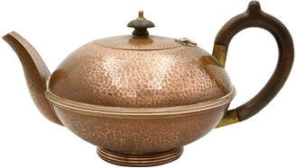One Kings Lane Vintage English Hand-Hammered Copper Teapot - Rose Victoria