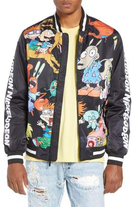 Members Only Mashup Nickelodeon Bomber Jacket