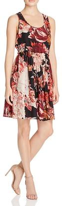Elizabeth and James Ivy Printed Silk Dress $395 thestylecure.com