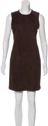 Ralph Lauren Suede & Cashmere Dress