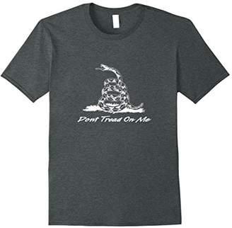 "American Patriot ""Don't Tread On Me"" Gadsden Snake T-shirt"