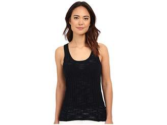 MICHAEL Michael Kors Texture Rib Tank Top Women's Sleeveless