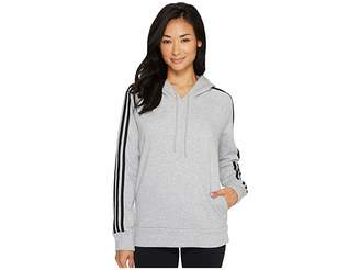 adidas Essentials Cotton Fleece 3S Over Head Hoodie Women's Sweatshirt