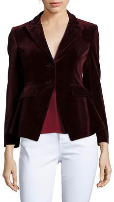 Altuzarra Solid Long-Sleeve Jacket