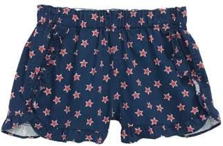 J.Crew crewcuts by Star Print Ruffle Pull-On Shorts